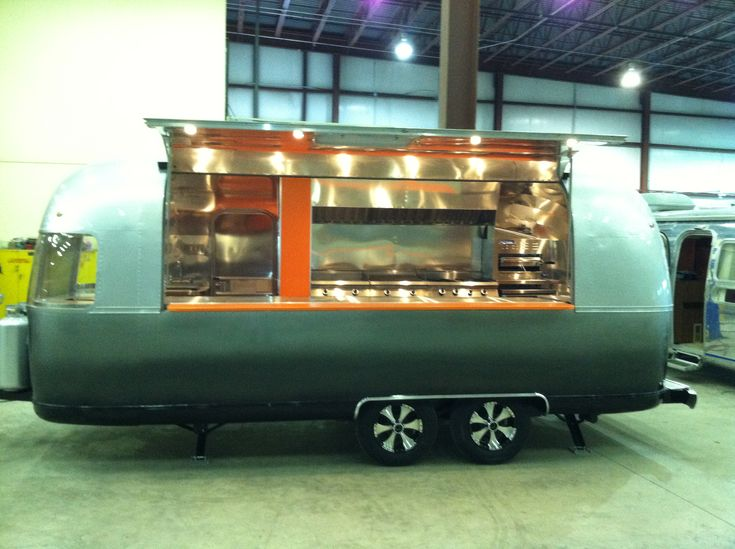 Airstream food truck foote family nomad airstream