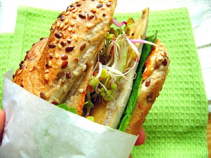 Domowy hamburger z makrelą