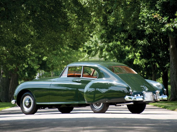 1953 bentley fastback sports saloon by h