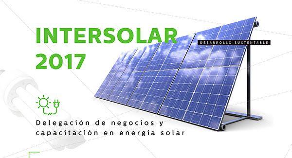 INTERSOLAR 2017  La AHK Argentina le ofrece un programa de un viaje de negocios y de capacitación en energía solar en el marco de la feria líder a nivel mundial Intersolar 2017 en Múnich, Alemania.  Del 29 de mayo al 3 de junio de 2017.  Más info: http://ly.cpau.org/2ox8ZJu  #AgendaCPAU #RecomendadoARQ