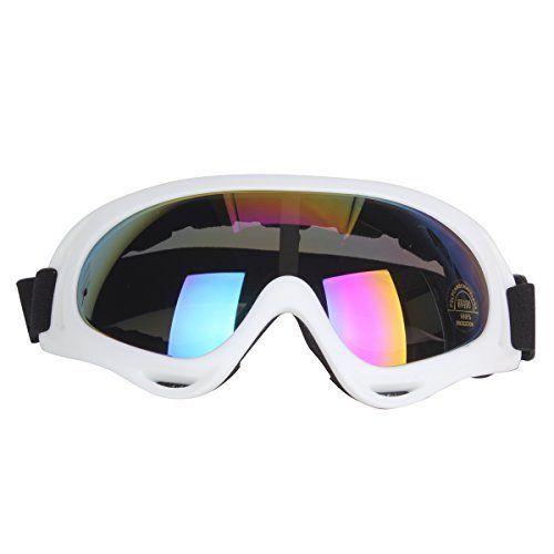 Uniquebella Lunettes de ski Masque Snowboard de Protection UV 400 Ski Goggles Coupe-Vent Lentilles Antiéblouissant & Anti-poussière pour…