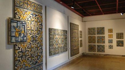 Museu Nacional do Azulejo in Lisbon, Portugal