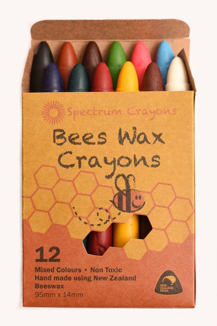 NZ Beeswax Crayons