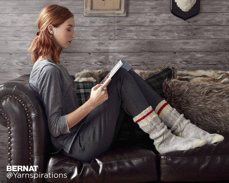 Chunky Knit Work Socks