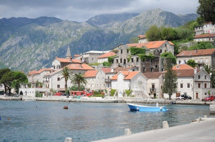 The 7 day self-drive Discover Montenegro tour takes you Montenegro's best spots, like Perast in the Bay of Kotor