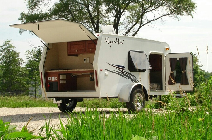 Expandable Travel Trailers >> Mega-Mini teardrop camper/trailer. | Camping | Pinterest