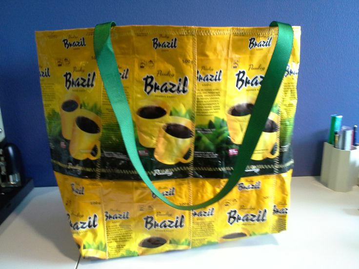 Kahvipussikassi Brazil / From Brazil coffee bags