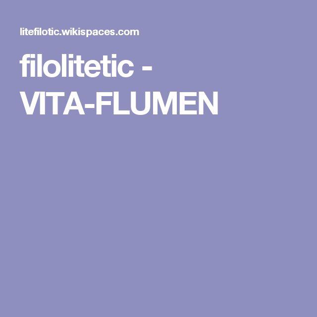 Un ejemplo de Vita Flumen, es la de la cancion Bajarse al Moro.