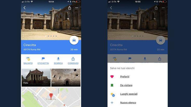 Google Maps, le liste di luoghi arrivano nella versione desktop https://www.sapereweb.it/google-maps-le-liste-di-luoghi-arrivano-nella-versione-desktop/        Liste di posti, liste di posti ovunque. Sembra uno scioglilingua, invece è la nuova opzione di Google Maps, che dopo aver reso possibile la condivisione della propria posizione in tempo reale, porta una novità alle liste dei luoghi. È iniziato il rilascio della funzione che consentirà di...