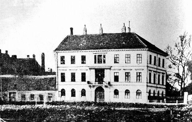 Mary Vetseras Geburtshaus am Schüttel.