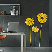 Tre Sunflower Wall Sticker – NOK kr. 165