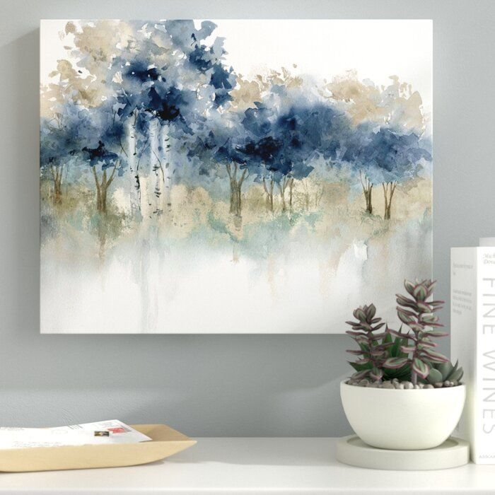 Ebern Designs Reproduction Sur Toile Tendue Winter Edge Iii Et Commentaires Wayfair Ca In 2020 Large Canvas Art Abstract Canvas Painting Abstract Canvas