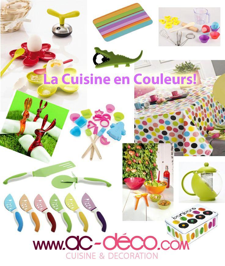 La cuisine est en couleurs des ustensiles de cuisine - Ustensiles de cuisine en c ...