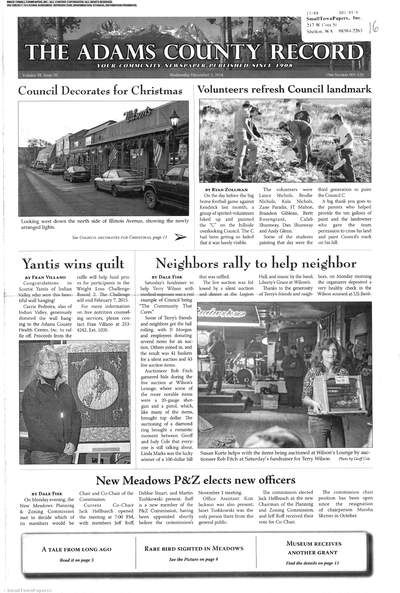 The Adams County Record (Idaho) newspaper archive available at http://ada.stparchive.com/archives.php