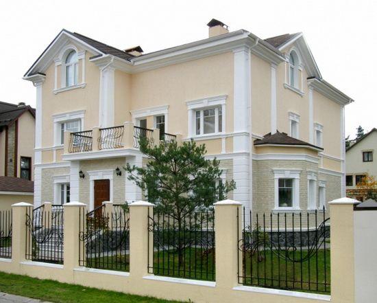 фасад дома с красной крышей - Пошук Google