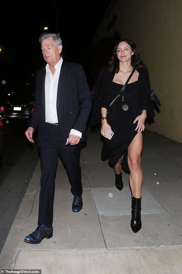 Katharine Mcphee 35 Enjoys Dinner With Husband David Foster 70 In 2020 Katharine Mcphee Fashion The Fosters