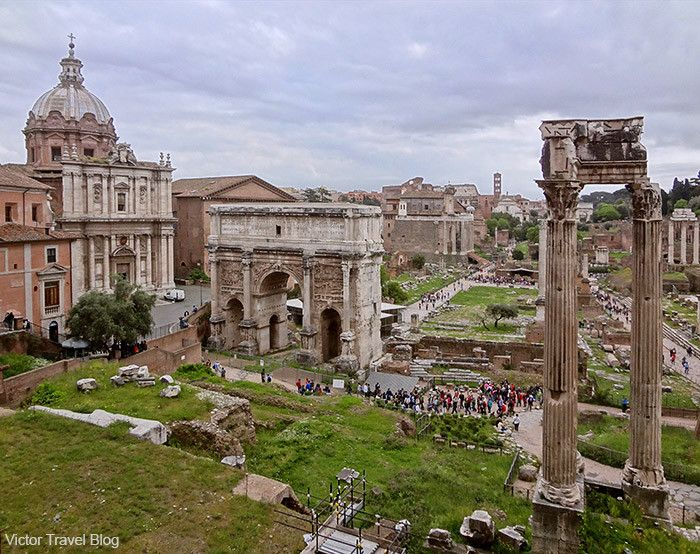 The Roman Forum, Rome, Italy. www.victortravelblog.com/2013/08/19/song-about-rome/
