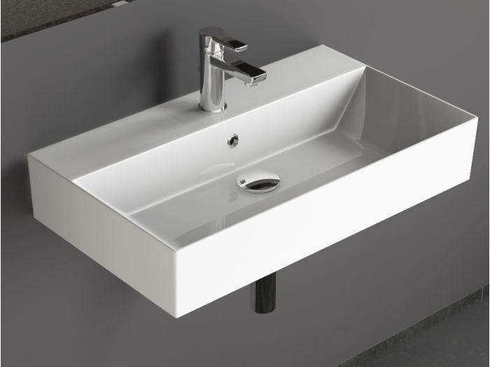 Aqua Bagno Keramik Aufsatzwaschtisch Waschtisch...