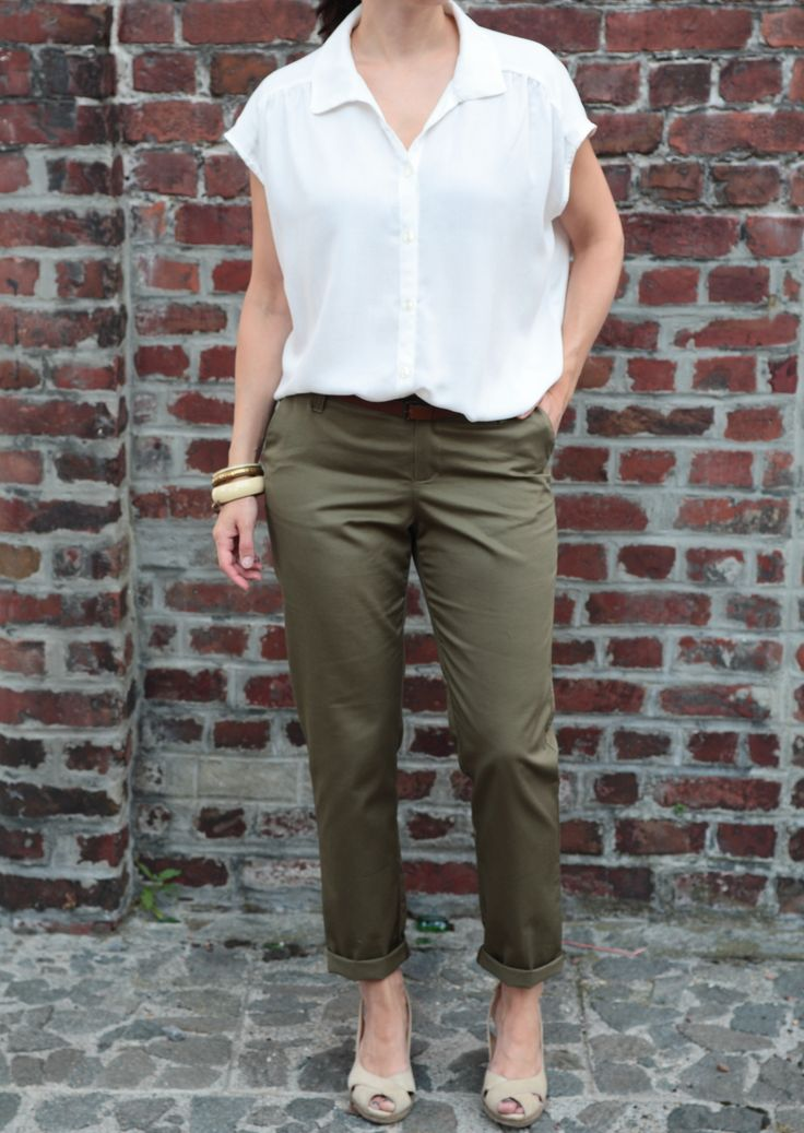 Chi-Town Chinos - Alina Sewing + Design Co Aime Comme Maligne - Aime Comme Marie My Handmade closet