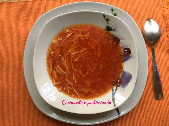 Cucinando e Pasticciando: Minestra al Pomodoro
