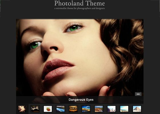 If you are a photographer wanting to appear your photos online with a wordpress theme that is unobjectionable and virtuous looking then this aviator is for you, because this place contains 10 wordpress picture gallery themes in which some are released of toll and whatsoever are payment but at real low value. Now if you require to pretence your phot