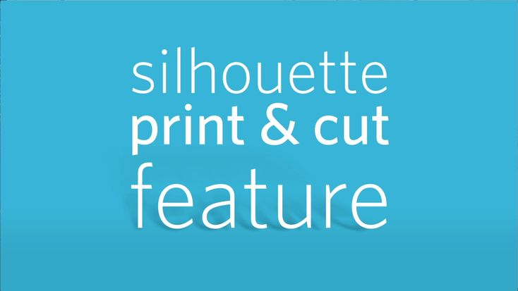 Silhouette America's electronic cutting tools give you additional creative freedom with their Print & Cut feature.