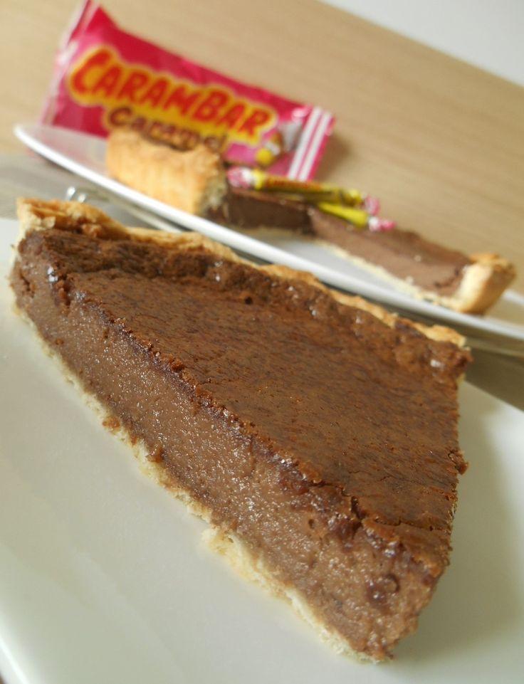 Une tarte régressive aux carambars ®...