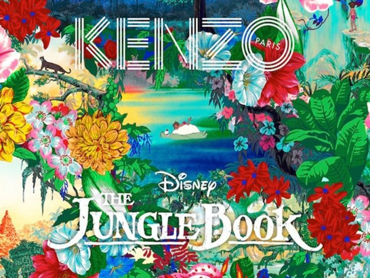 Exclusive Kenzo and Disney 'Jungle Book' collection