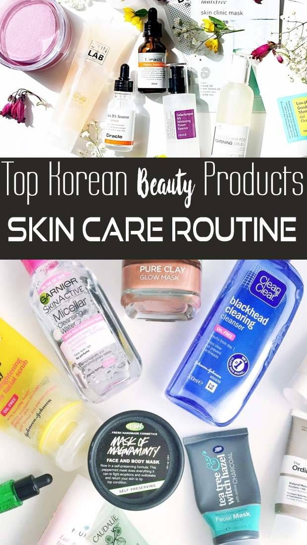 Best Value Korean Skin Care Routine Acne Prone Products In 2020