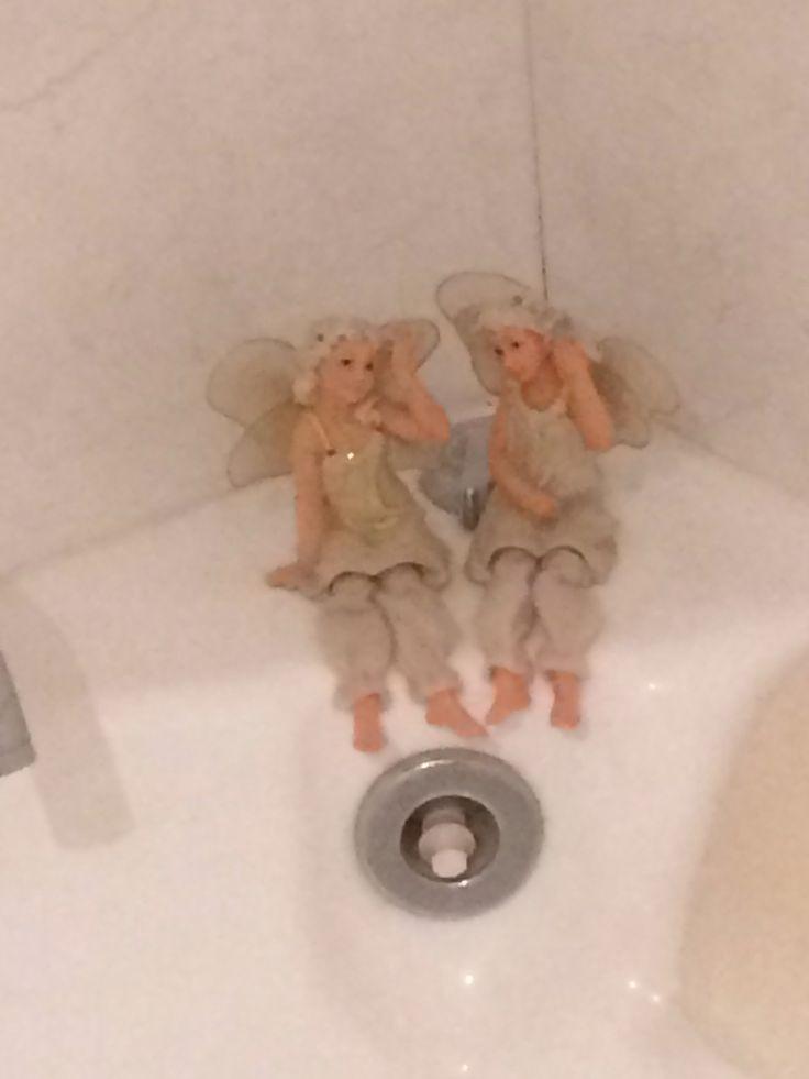 Fairies on the spa bath