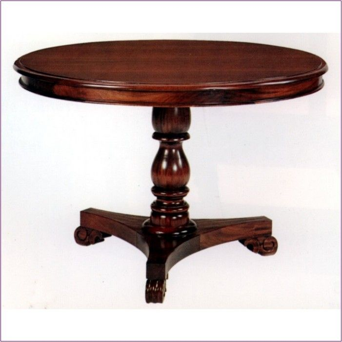 Round pedestal dining table plans woodworking projects Pedestal farmhouse table plans