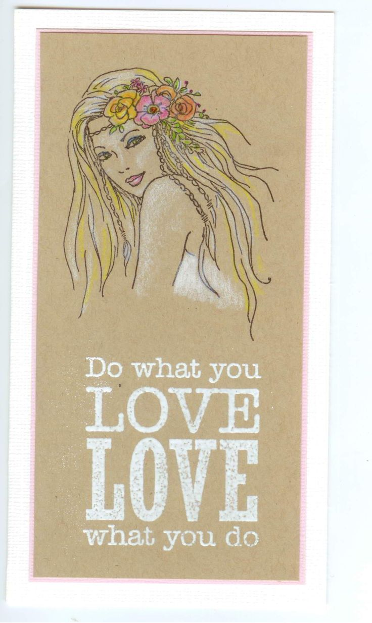 spring girl 4949F, siset104 what you love: Stamp-it Australia. Card by Susan of Art Attic Studio