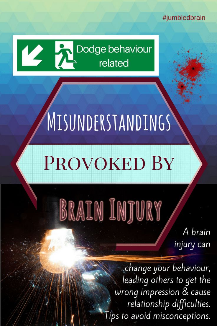 A brain injury can change your behaviour, leading others to get the wrong impression & cause relationship difficulties. Tips to avoid misconceptions.