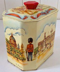 Antiquité. Collection Boîte en fer très ancienne Angleterre