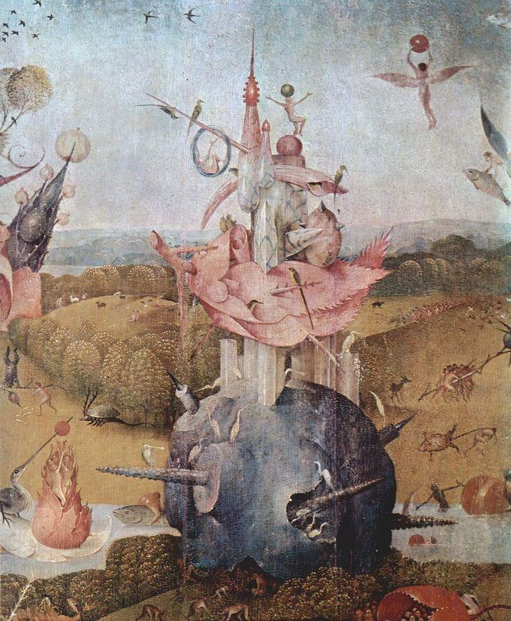 Иероним Босх Сады земных наслаждений, центральная часть. фрагмент