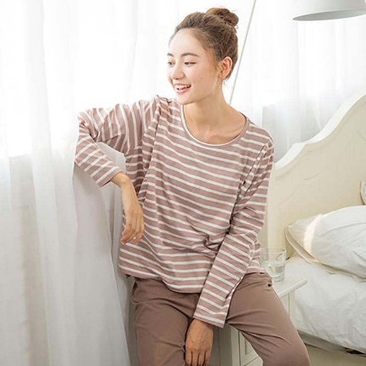 51.17$  Buy now - http://alirky.worldwells.pw/go.php?t=32786675655 - Autumn Winter Maternity Nursing Clothes For Pregnant Nightie Women Shirt Feeding Warm Cotton Pregnant Clothes Big Size 70M0119 51.17$