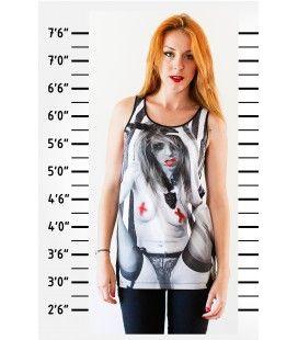 Débardeur Trash by 1000 SUICIDE GIRL -45% avec le code TRASHNOEL www.trash-mode.com