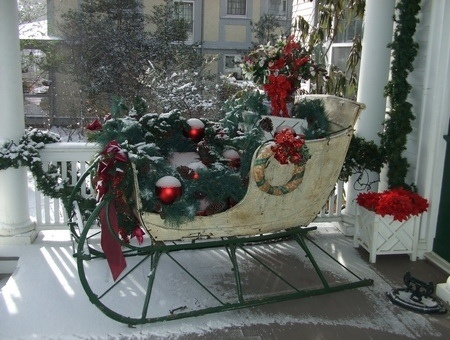 36 Best Images About Christmas Sleighs On Pinterest