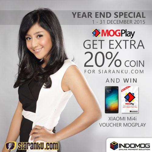Mau dapetin smartphone dan ekstra koin Siaranku.com gratis? Yuk cek info lengkapnya disini