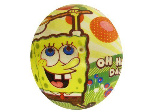 SpongeBob SquarePants Rubber Playground Ball - SpongeBob Happy Day Ball (7) @ niftywarehouse.com #NiftyWarehouse #Spongebob #SpongebobSquarepants #Cartoon #TV #Show