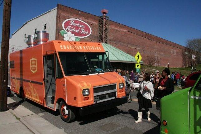 American Meltdown gourmet melts food truck, Raleigh-Durham, NC