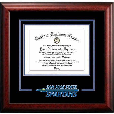 San Jose State University 85 Inch X 11 Spirit Diploma Frame