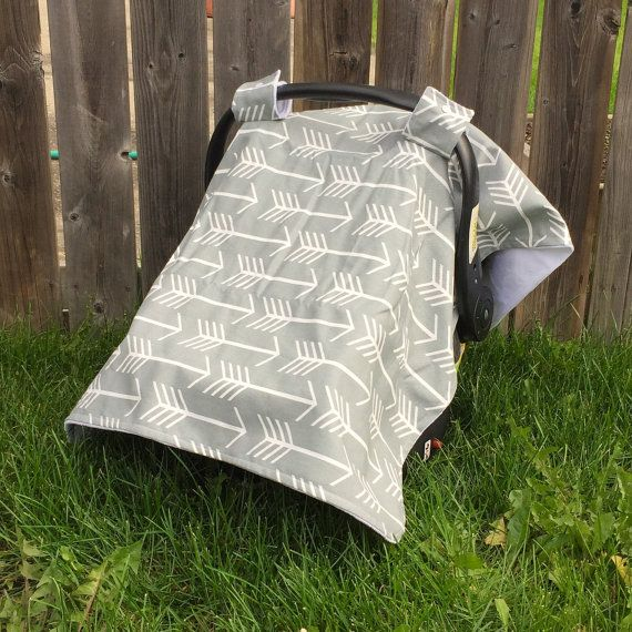 Car Seat Canopy  Car Seat Cover by CandyBabyCollection on Etsy