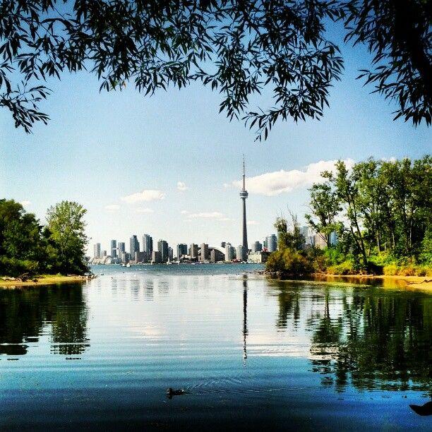 Centre Island in Toronto, ON
