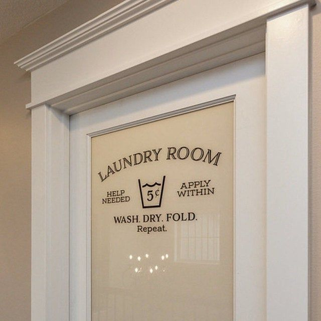 Laundry Vinyl Decal Laundry Room Decal Glass Door Decal Vinyl Lettering Rectangle Border Frame Sign Wall Sticker Vinyl Decal Hh2064 Wall Decals Laundry Laundry Room Decor Signs Wash Dry Fold