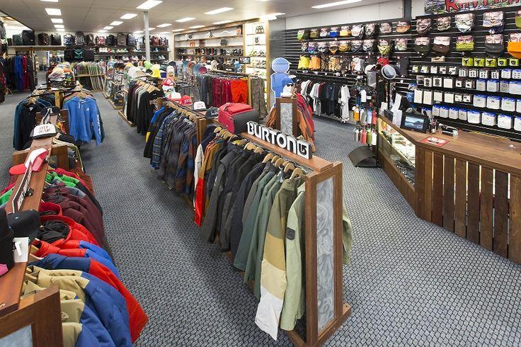Rhythm Snowsports Retail Snowboard Section