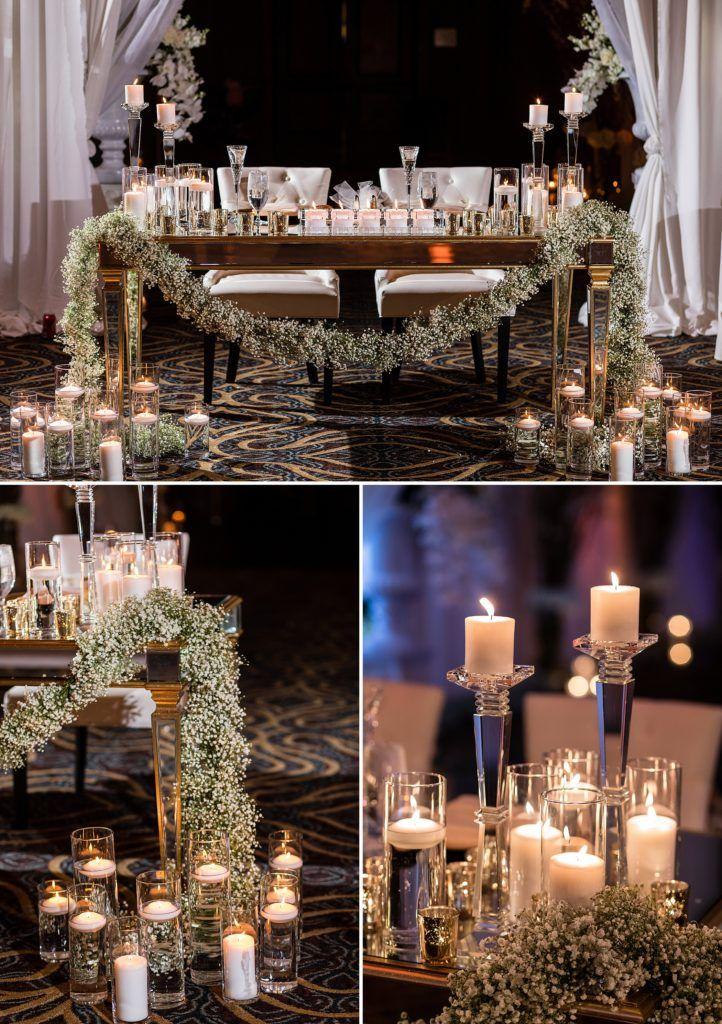 Crystal Tea Room Wedding Wedding Reception Rooms Philadelphia Wedding Venues Wedding Reception Centerpieces