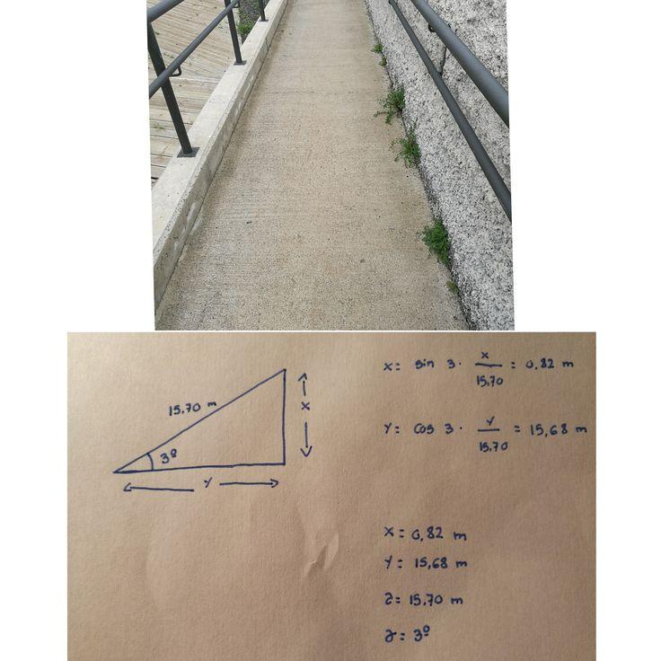RAMPA 6 Localizada en Camino de Icod del Alto. La altura de esta rampa es de 0,82 m, y su longitud es de 15,68 m, su grado de inclinación es de 3º y su pendiente es de un 5%. Esta rampa si cumple con la normativa ya que su inclinación es de un 5% y es totalmente accesible.