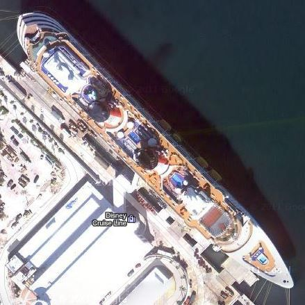 Best Cruise Ships On Google Earth Images On Pinterest Photos - Cruise ship google earth
