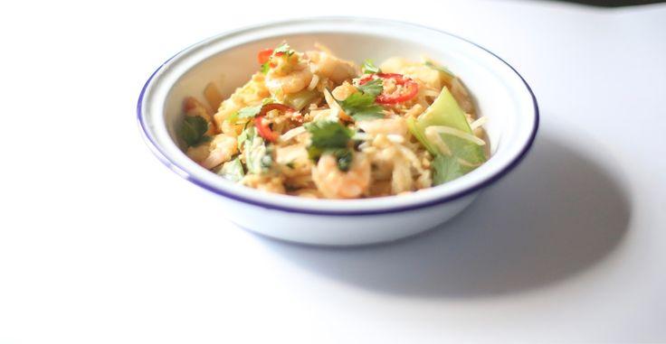 Healthy Prawn Pad Thai